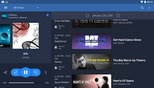 Digitally Imported Radio Screenshot 16