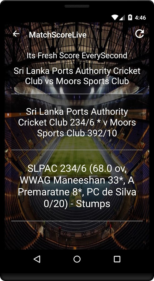 Tinder app store live cricket match