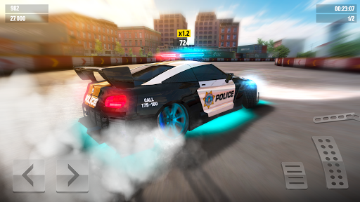 Drift Max World - Jeu de course avec dérapages APK MOD screenshots 2