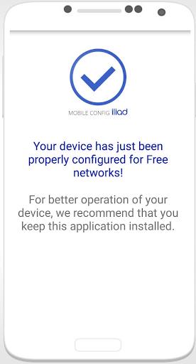 Settings Mobile Config 2021 screenshot 1