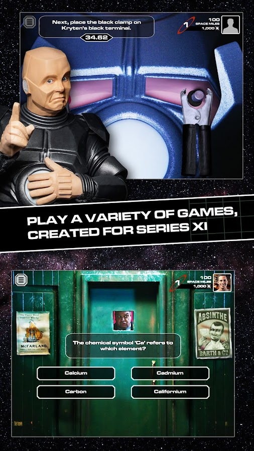 Red Dwarf XI : The Game- screenshot