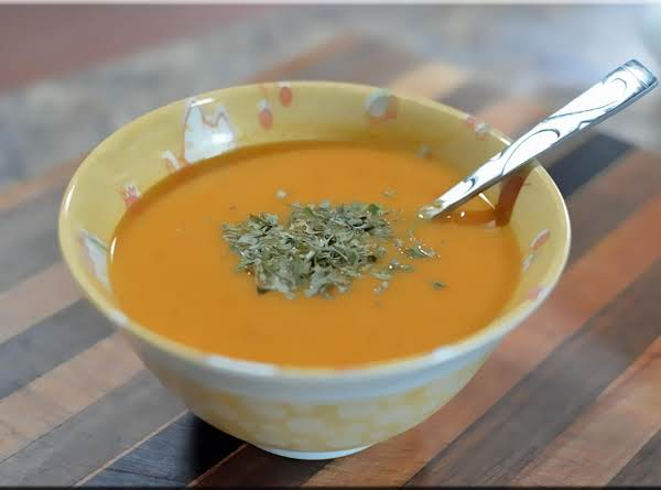 Yam & Leek Soup