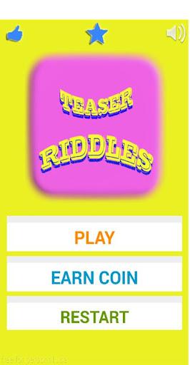 Teaser Riddles