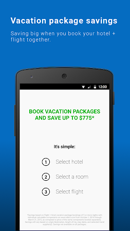 Orbitz - Flights, Hotels, Cars 6.2.1 screenshot 237014