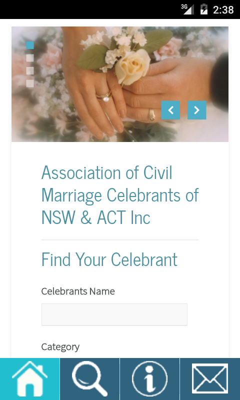 Marriage Celebrants- screenshot