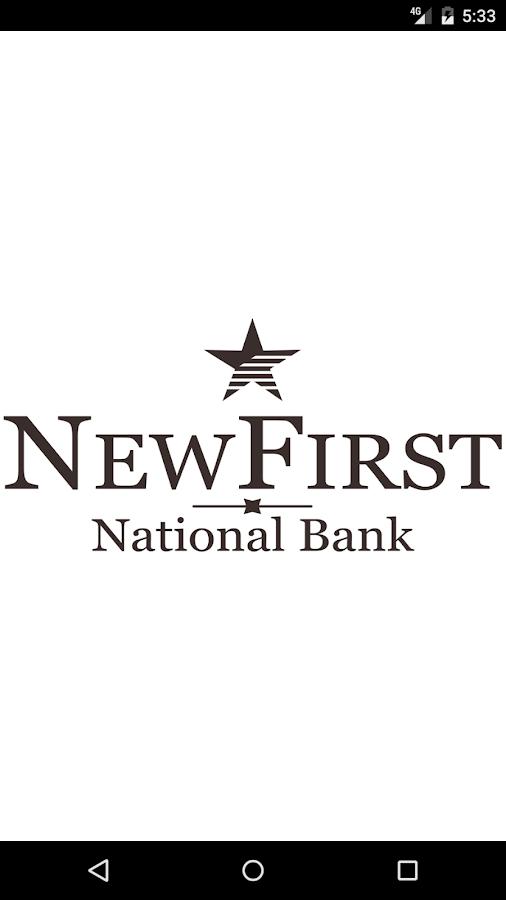 NewFirst National Bank Mobile- screenshot