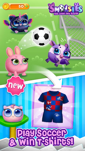 Smolsies - My Cute Pet House 4.0.2 screenshots 2