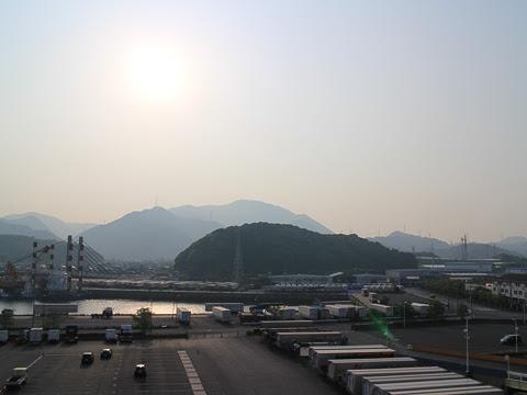 阪九フェリー「いずみ」_21 新門司港出港