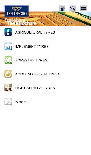 Trelleborg Tire iBrochure App
