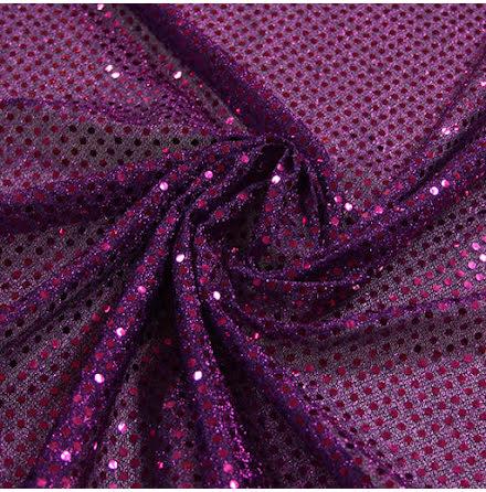 Glitterpaljett - lila