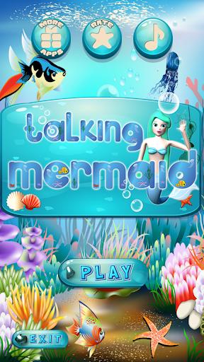 Talking Mermaid 1.8 screenshots 2