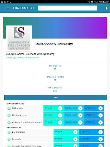 Gradesmatch App screenshot 15