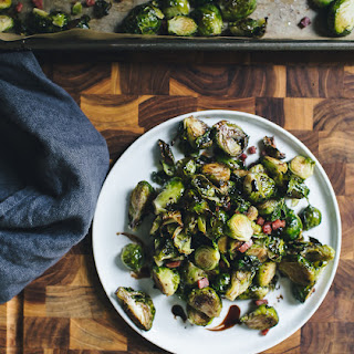 Ina Garten's Balsamic Roasted Brussels Sprouts.