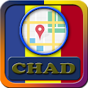 Chad Maps And Direction icon