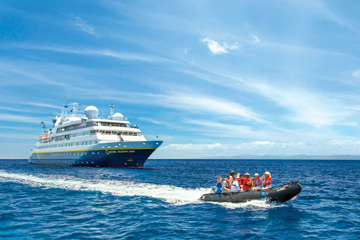 Explore out-of-the-way island locales on your Lindblad excursion on National Geographic Orion.
