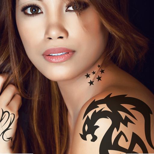 Tattoo Designs Photo Montage
