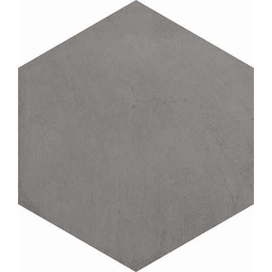 Klinker Hexagon Bampton Grafito 23x26,6