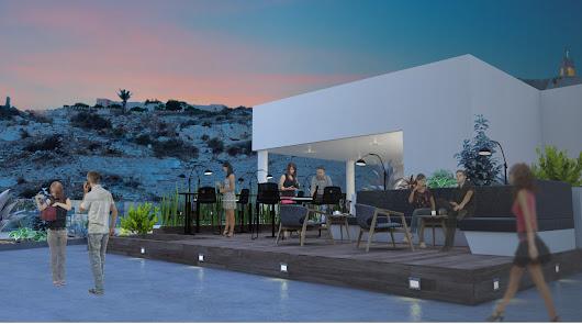 Así será el restaurante-coctelería que abrirá en el edificio de Urbanismo