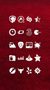 Whicons - White Icon Pack - náhled
