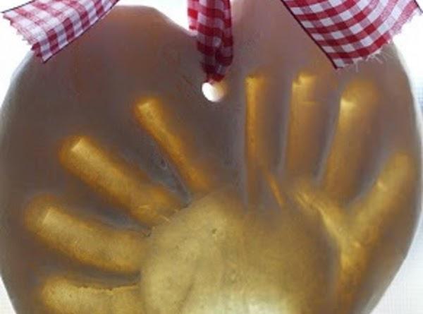 Hand Print Keep Sake Recipe