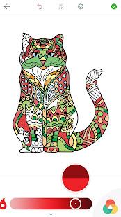 Buku Mewarnai Gambar Kucing Apl Di Google Play