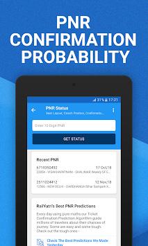 pnr confirmation chances