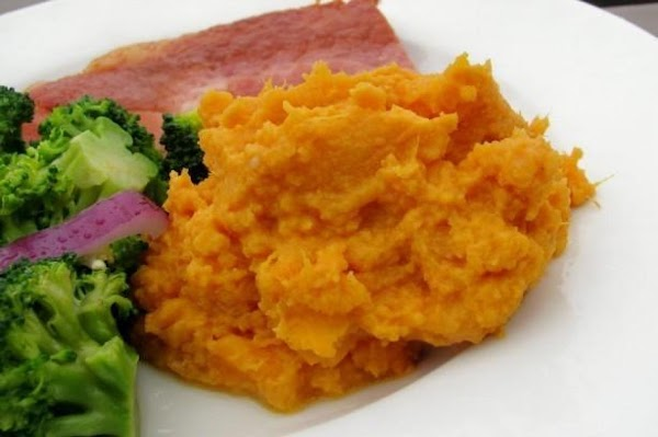 Easy Maple Mashed Sweet Potatoes Recipe