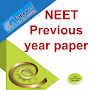 NEET Previous year question paper in Hindi App APK icon