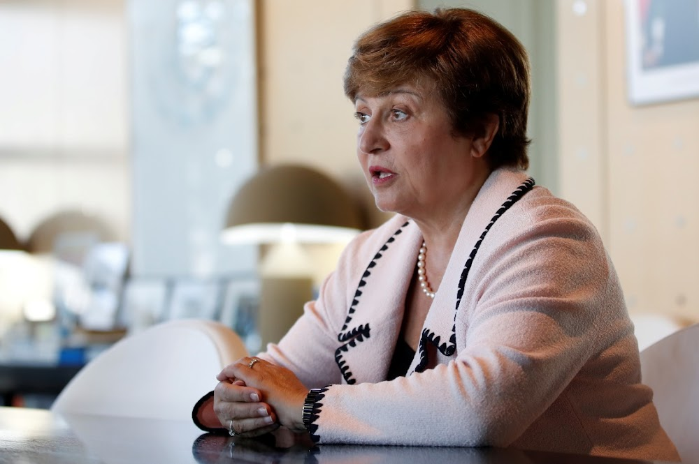 Kristalina Georgieva, die enigste kandidaat van die Wêreldbank, om IMF te lei