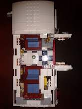 Photo: top view with roof removed