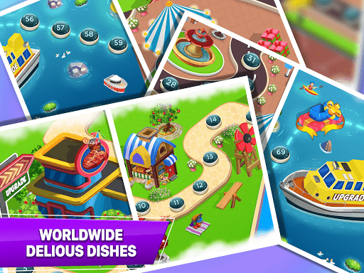 Cooking Crush - Madness Crazy Chef Cooking Games APK MOD – ressources Illimitées (Astuce) screenshots hack proof 2