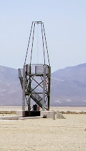Photo: Vertical Static Motor test stand.