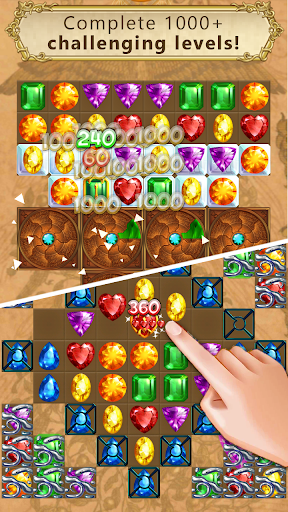 Clash of Diamonds - Match 3 Jewel Games