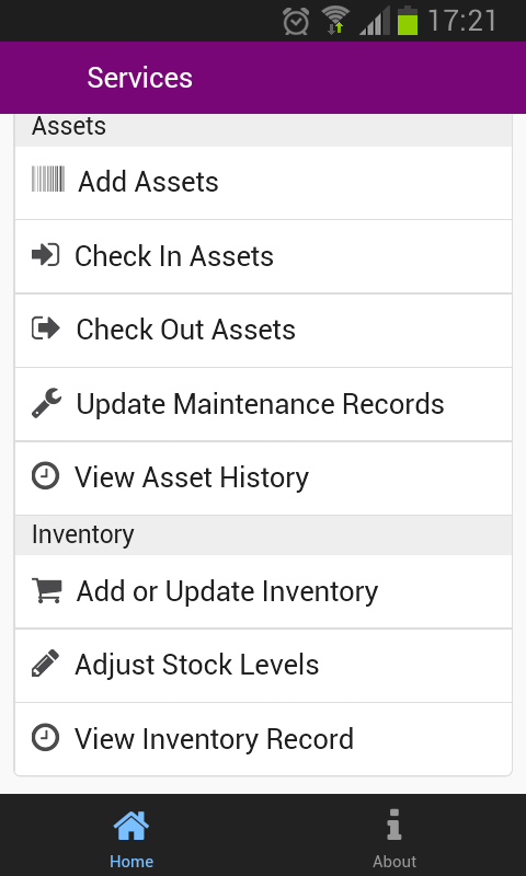Asset & Inventory Tracker- screenshot