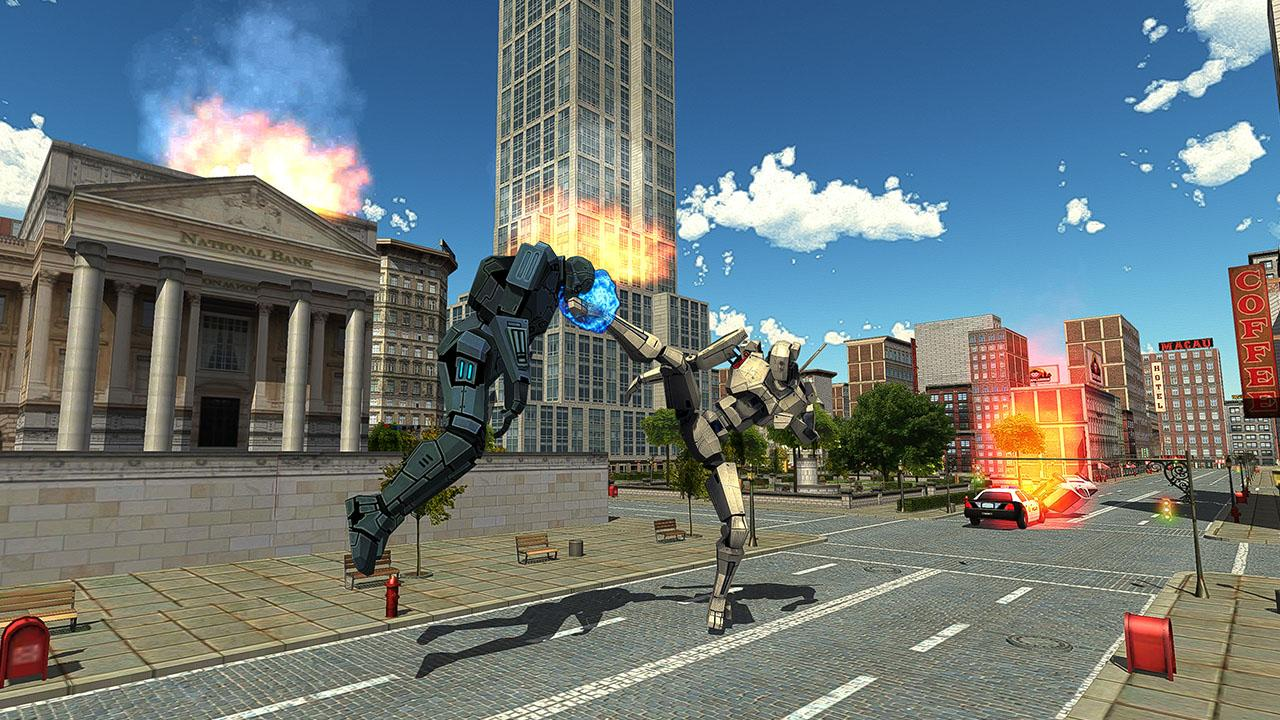 Real Robots War Steel Fighting- screenshot