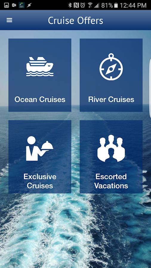 Cruise Holidays- screenshot