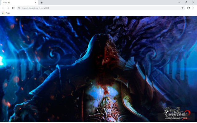 Castlevania: Lords of Shadow 2 New Tab Theme