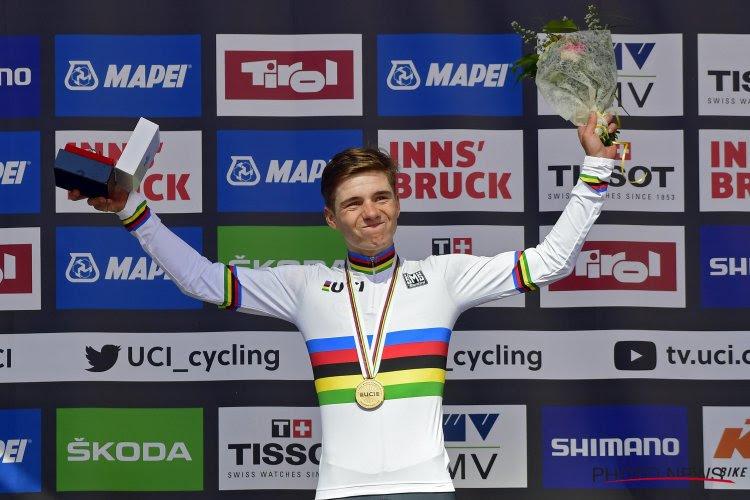 """Evenepoel (18) is dé Belgische wielersensatie en koos voor de juiste overstap: """"Bij Anderlecht had hij het niet gehaald"""""""