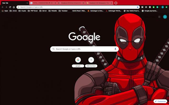Deadpool Hd Wallpapers Theme
