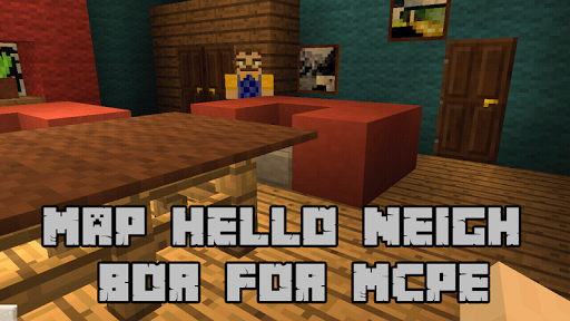 Map Hello Neighbor for MCPE for PC