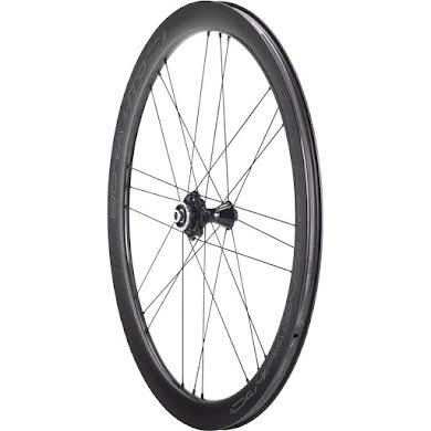 Campagnolo BORA WTO 45 Front Wheel - 700c, QR x 100mm, Center-Lock, 2-Way Fit, Dark Label