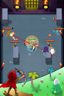 Bow Hero MOD (Shoot Through The Wall/Multiple Defense) 5