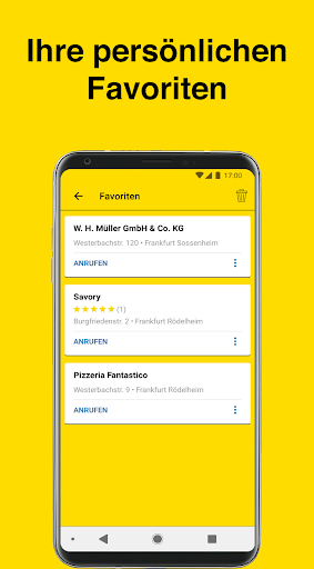 Gelbe Seiten - Auskunft und mobiles Branchenbuch 6.16-0381813b0 screenshots 6