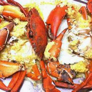 Ginger and Garlic Steamed Crabs #SeafoodRecipesWorldwide