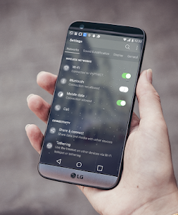 MIOS Blur Theme LG G6 V20 G5 (V30 in Description) Screenshot