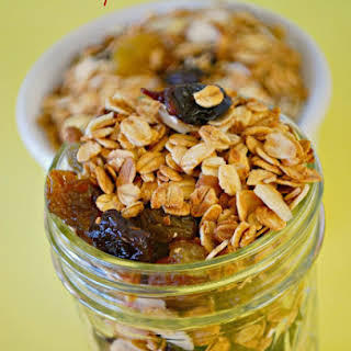 Cherry Almond Granola.
