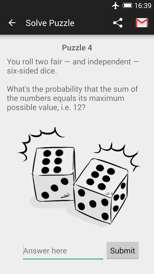 Probability Puzzles- screenshot