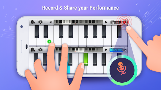 Descargar touch pianist Para PC ✔️ (Windows 10/8/7 o Mac) 4