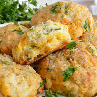 Cheddar Bay Drop Biscuits