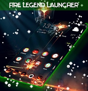 Fire Legend Launcher - náhled